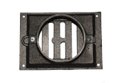 grille ronde fonte
